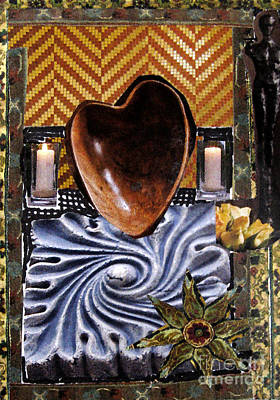 Mixed Media - Heart In Motion by Patricia Januszkiewicz