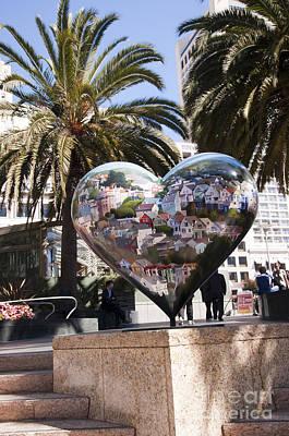 Photograph - Heart In San Francisco by Brenda Kean