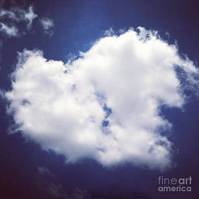 Photograph - Heart In The Clouds by Kerri Farley