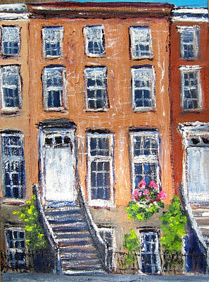 Painting - Heart Of Chelsea by Kathryn Barry