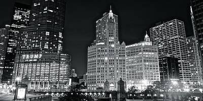 B Drake Photograph - Heart Of Chicago by Frozen in Time Fine Art Photography