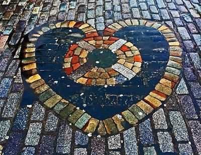 Heart Of Edinburgh Original by Tory Stoffregen