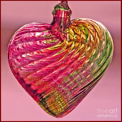 Photograph - Heart Of Glass by Chris Anderson