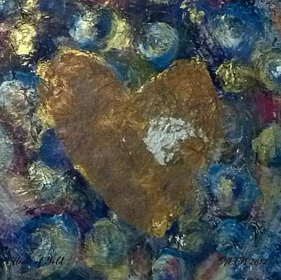 Painting - Heart Of Gold by Christine Nichols