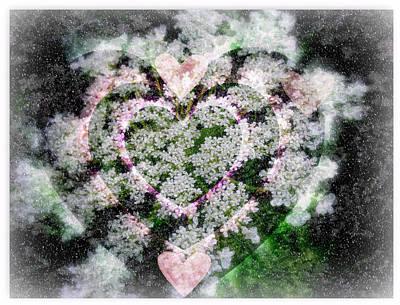 Heart Of Hearts Print by Kay Novy