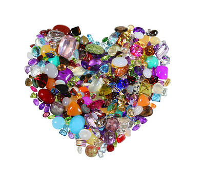 Photograph - Heart Of Jewels by John Orsbun