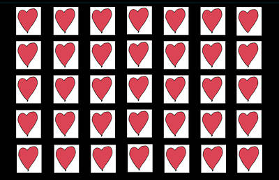 Mixed Media - Heart Of My Heart by Strangefire Art       Scylla Liscombe