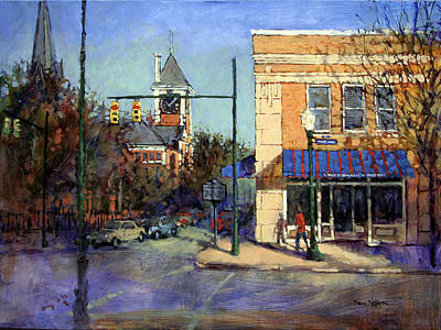 Painting - Heart Of New Bern by Dan Nelson