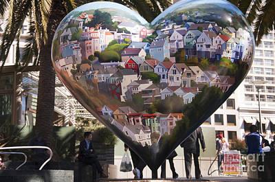 Photograph - Heart Of San Francisco by Brenda Kean