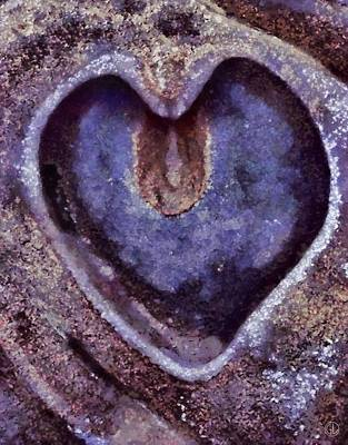 Heart Of Stone Print by Gun Legler