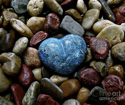 Heart Of Stone Art Print by Lisa  Telquist