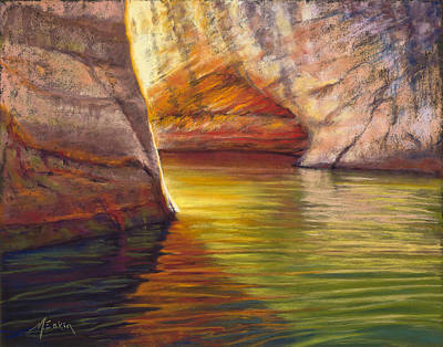 Painting - Heart Of The Canyon by Marjie Eakin-Petty