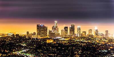 Photograph - Heart Of The City Panorama by Jason Chu