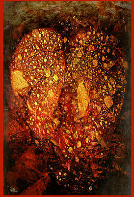 Abstract Painting - Heart Of The Forest by Douglas MooreZart