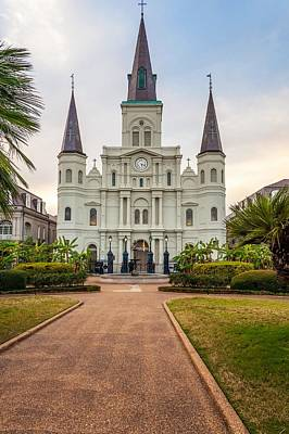 Cathedral Photograph - Heart Of The French Quarter by Steve Harrington