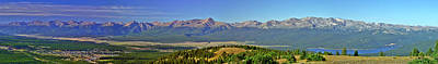 Heart Of The Sawatch Panoramic Art Print by Jeremy Rhoades