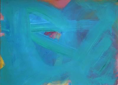Painting - Heart Peeking Through by Katie Ketchum