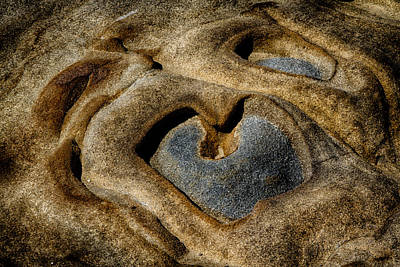 Photograph - Heart Rock by Robert Woodward