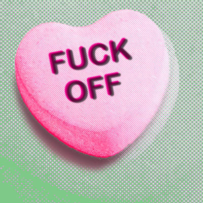 Photograph - Heart Series Love Candy Hearts by Tony Rubino