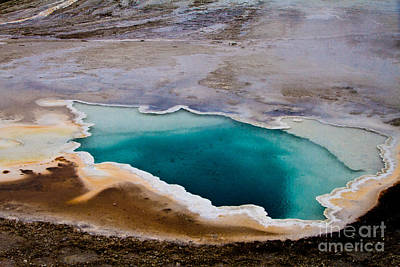 Heart Spring Yellowstone National Park Original
