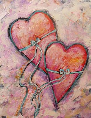 Heart Strings Art Print by Carol Suzanne Niebuhr