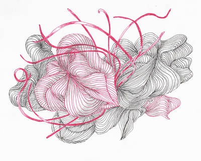 Drawing - Heart Strings by Quwatha Valentine