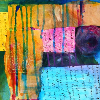 Torn Paper Painting - Heart Tear by Nancy Merkle