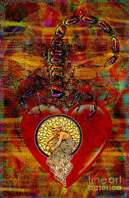 Heartache Art Print by Joseph Mosley