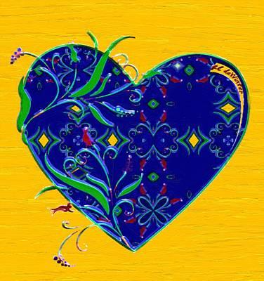 Heartbloom Print by RC deWinter
