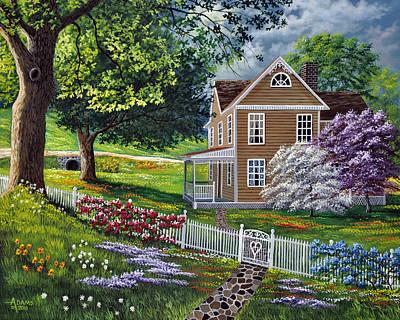 Kentucky Painting - Heartfelt by Gary Adams