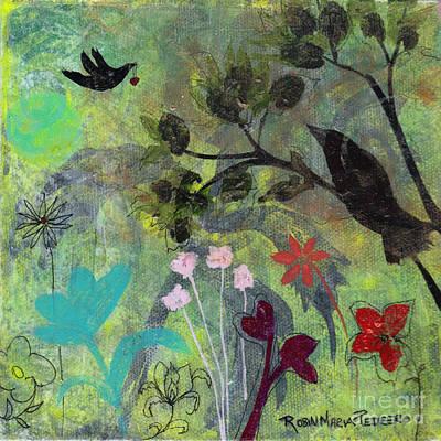 Painting - Heartfelt Thanks by Robin Maria Pedrero