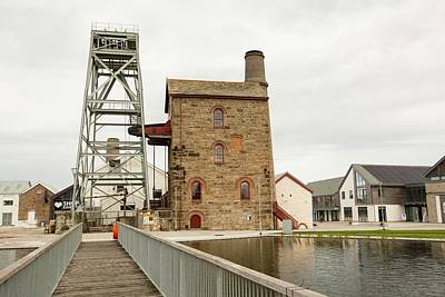 Engine House Photograph - Heartlands by Ashley Cooper