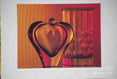 Still Life Photograph - Hearts Aglow by Sharon Elliott