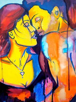 Pople Painting - Heart's Desire by Debi Starr