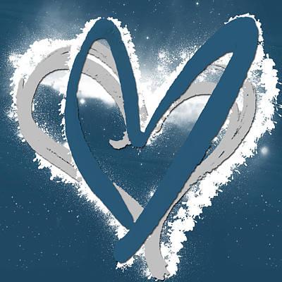 Acrylic Digital Art - Hearts For Hearts 10 by Melissa Smith