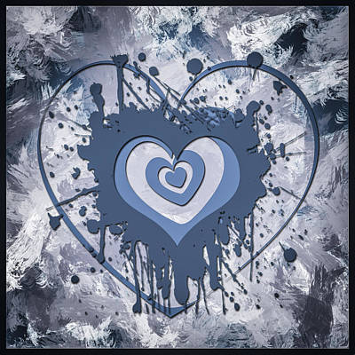 Graphics Digital Art - Hearts For Hearts 8 by Melissa Smith