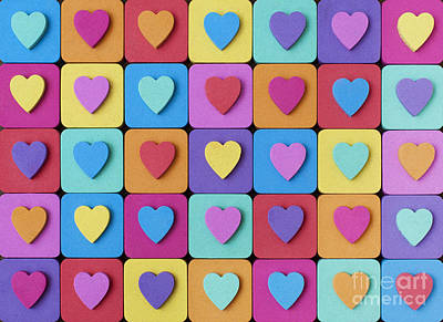 Photograph - Hearts Of Colour by Tim Gainey