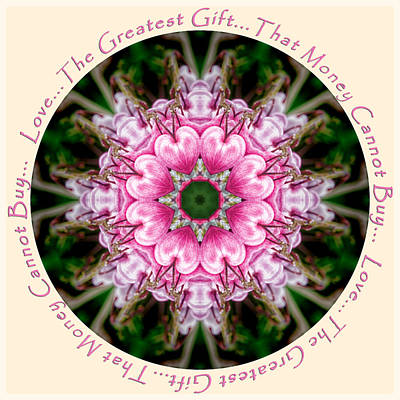 Photograph - Hearts Of Love Mandala by Beth Sawickie