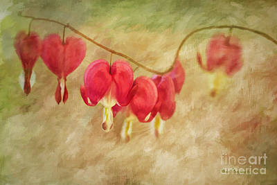 Photograph - Hearts On A String by Linda Blair