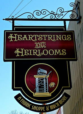 Photograph - Heartstrings And Heirlooms by Jeff Gater