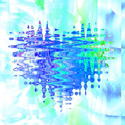Digital Art - Heartthrob Blues by Kristi Kruse