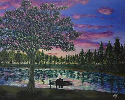 Painting - Heartwell Park by Amelie Simmons