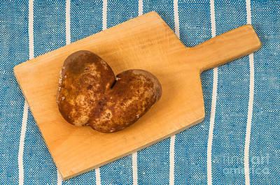 Photograph - Hearty Potatoe by Les Palenik