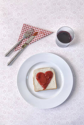 Hearty Toast Art Print