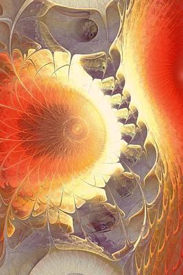 Heat Shield Art Print by Anastasiya Malakhova