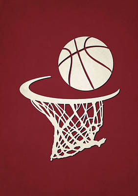 Heat Team Hoop2 Art Print by Joe Hamilton