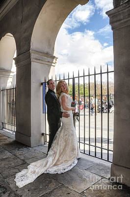 Photograph - Heather And Nelsen At Cabildo by Kathleen K Parker