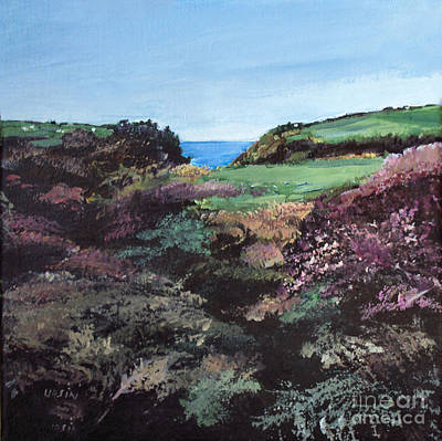 Painting - Heather by Diane Ursin