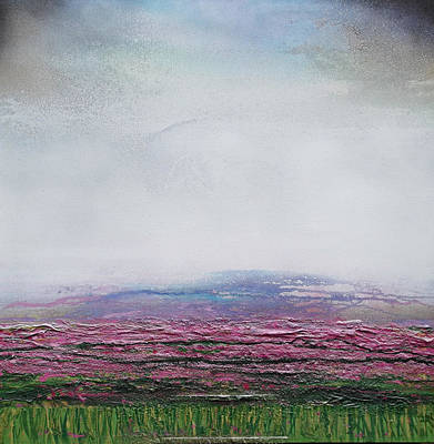 Mixed Media - Heather Redesdale 4 by Mike   Bell