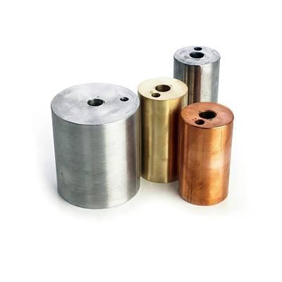 Heating Blocks Of Different Metals Art Print